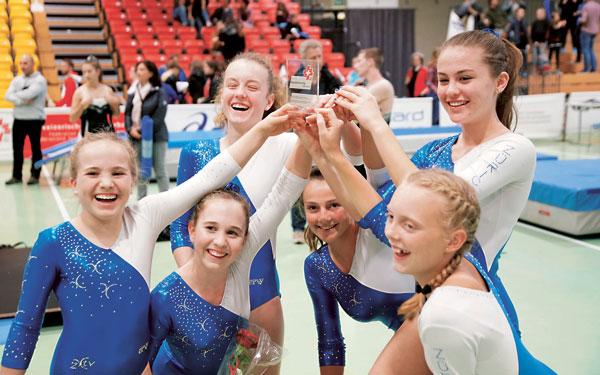 Sensationell: Silber an der Schweizermeisterschaft für den TV-NSW