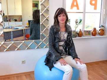 Logopädin Julia Collmer