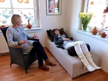 Entspannungsphasen im therapeutischen Prozeß