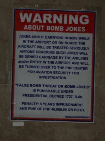 UTTER STUPIDITY – Saudi OFW in hot water over bomb joke