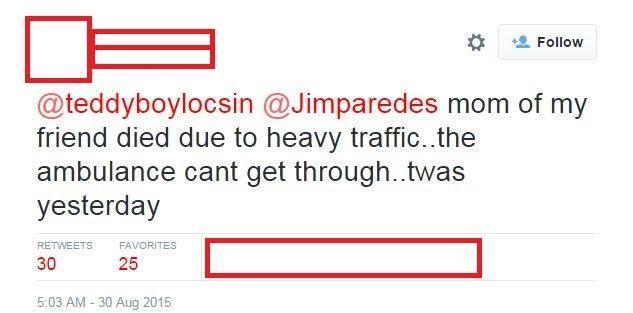 "!UPDATED! ""FATALITY"" – Tweet accuses Iglesia ni Cristo rally for causing 1 life lost in ambulance due to gridlock"