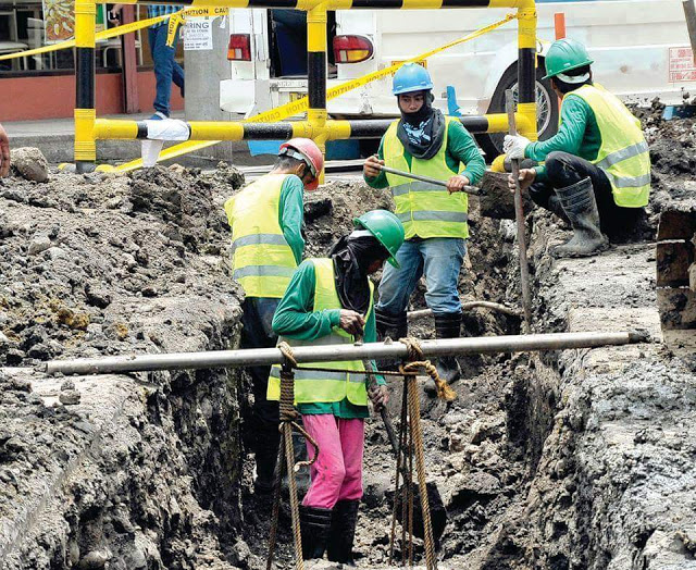 Davao City Hall area has its utility cables underground- and mulls having it done citywide