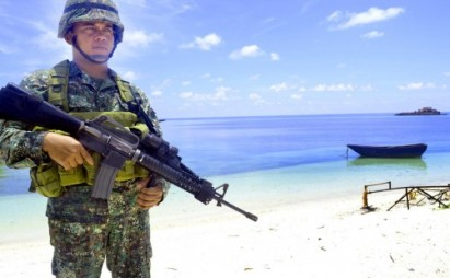 China angered as Filipino protesters visit South China Sea island
