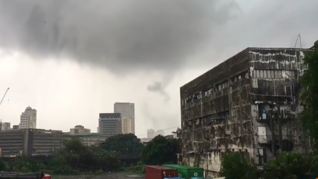 Tornado invades Metro Manila, widespread damages to property