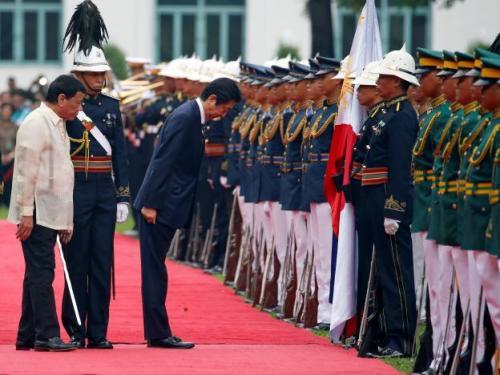 JPN Prime Minister visits PHL Prez in Malacanang and Davao residence
