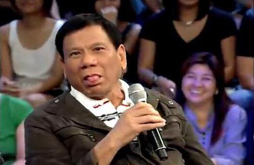 President Duterte to those involved in #LeniLeaks: GOOD LUCK