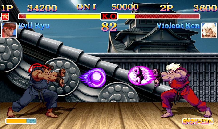 ANOTHER ONE?! – New SF2 game adds Evil Ryu, Violent Ken