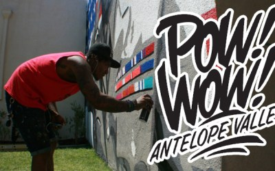 Pow! Wow! Antelope Valley Mural Festival and Las Vegas Adventures