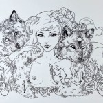 "Status Kuo ""In Wolves' Clothing"" 12″x18″ Print"