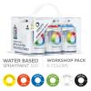 mtn® Water Based Aerosol Spray Paint 100ML 6 Pack
