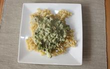 Penne rigate con gorgonzola