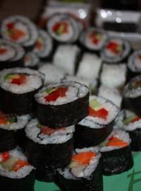 Sushi - maki i uramaki