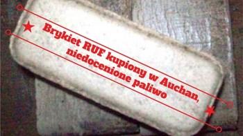 Brykiet RUF – INFINITUM kupiony w Auchan