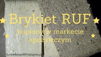 Czy brykiet kominkowy RUF kupiony w Carrefour jest coś wart?