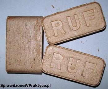 kostki brykietu RUF z firmy ICF Wood