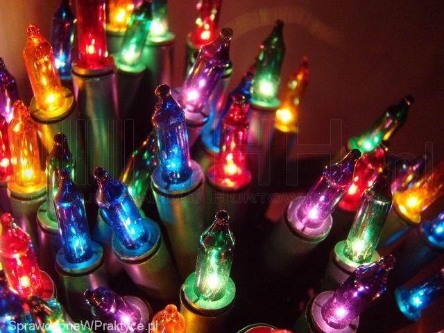 Oświetlenie świąteczne Lampki Choinkowe Wszystko Co O