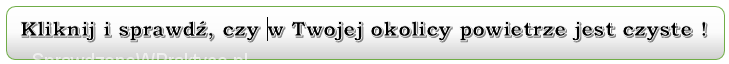 link do strony z danymi dotyczącymi zanieczyszczenia powietrza w Polsce