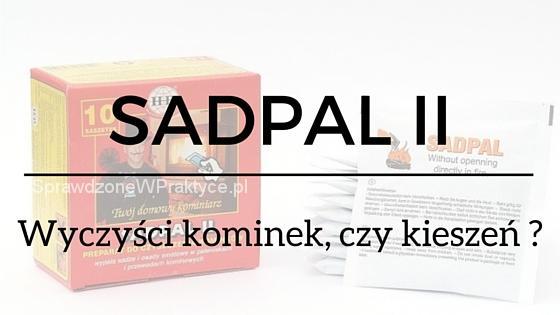 SADPAL II - Kominkowy kominiarz - działa czy nie działa?