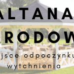 Altana ogrodowa, dobre miejsce na poobiednią kawę i rodzinne spotkanie