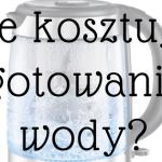 Czy wiesz, ile kosztuje gotowanie wody i jak robić to w sposób oszczędny?