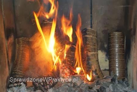 Płonący brykiet ECO-PAL