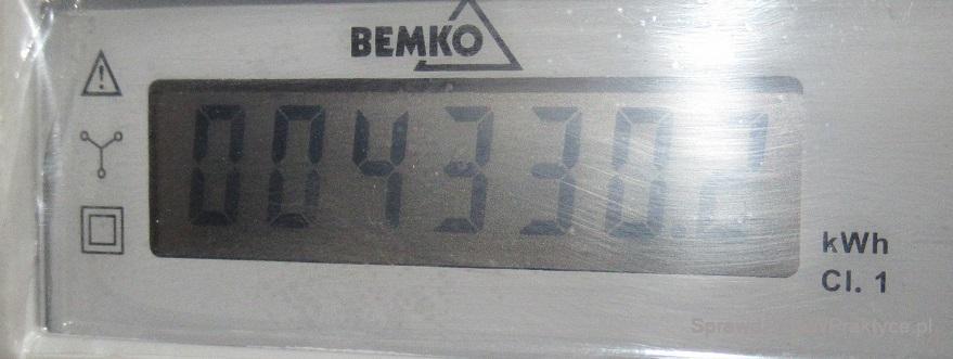 Licznik energii elektrycznej - ogrzewanie - 01.02.2021