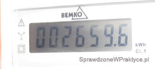 Energia zużyta do ogrzewania domu 28.12.2020