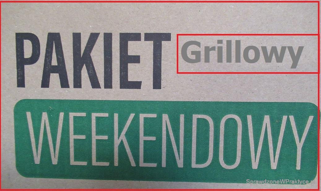 Weekendowy pakiet grillowy