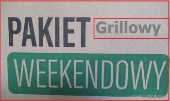 Grillowy pakiet weekendowy – raz kupisz i masz zapas paliwa do grilla na długi weekend lub nawet dwa.