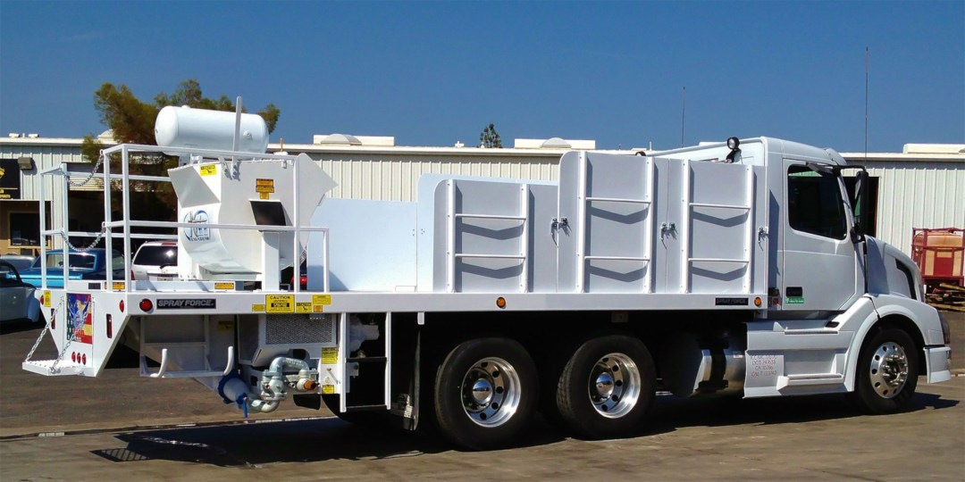 Excalibur Hydra PTO Spray Truck