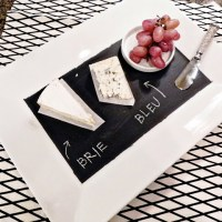 DIY: Chalkboard Cheese Plate