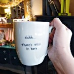 Diy Coffee Mug Spray Paint Chardonnay