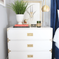 DIY: Ave Home Campaign Dressers