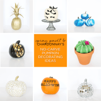 2016 No-Carve Pumpkin Decorating Ideas