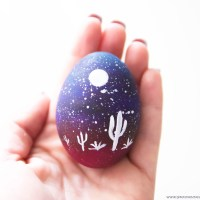 DIY: TEXAS STARRY NIGHT EGG