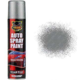 Silver Body Spray Paint 250ml