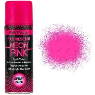 Neon-Pink-Spray-Paint-Fluorescent-200ml-