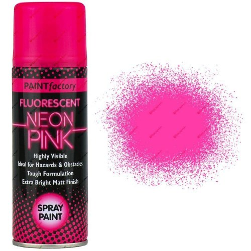 Neon-Pink-Spray-Paint-Fluorescent-200ml-