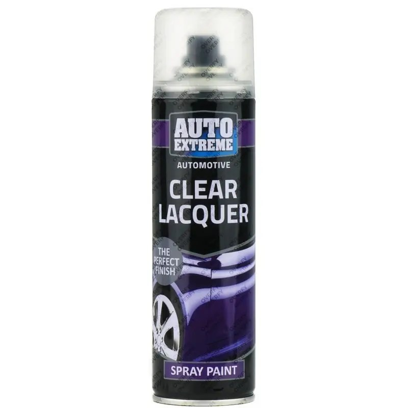 Clear Lacquer Spray Paint 250ml