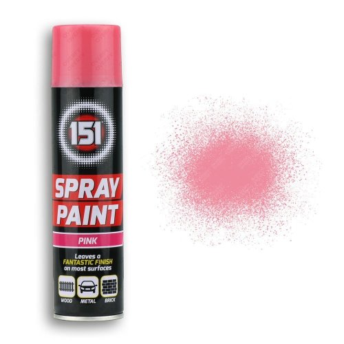 250ml-151-Pink-Gloss-Spray-Paint