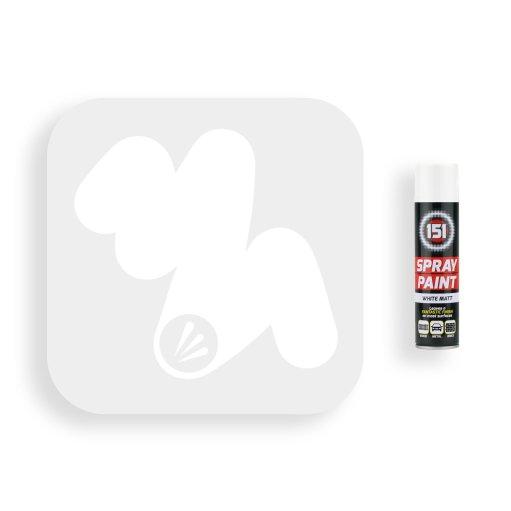 250ml-151-White-Matt-Spray-Paint-Swatch