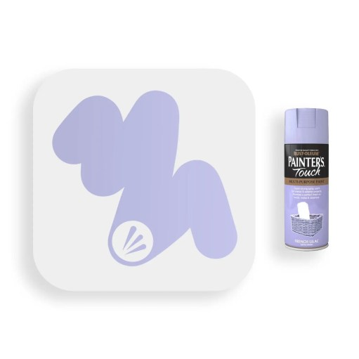 Rust-Oleum-French-Lilac-Satin-Spray-Paint-400ml-Painters-Touch-Swatch