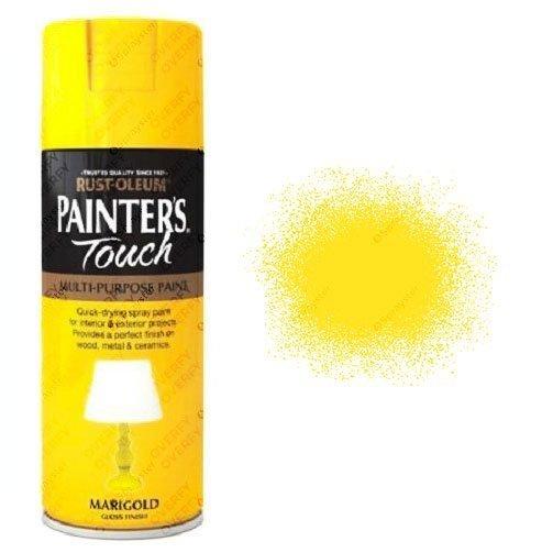Rust-Oleum Painter's Touch Marigold Yellow Spray Paint Gloss 400ml