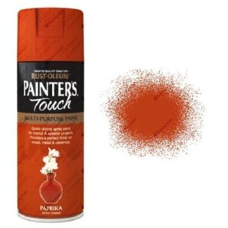 Rust-Oleum-Painter's-Touch-Paprika-Orange-Spray-Paint-Satin-400ml-
