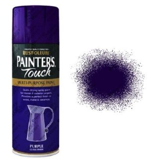 Rust-Oleum Painter's Touch Purple Gloss Spray Paint 400ml