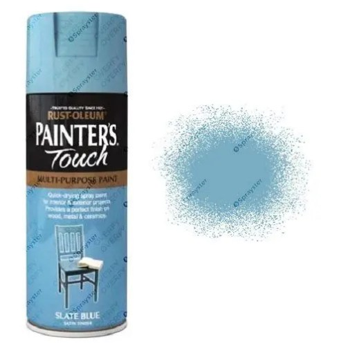 Rust-Oleum-Painters-Touch-Slate-Blue-Spray-Paint-Satin-400ml