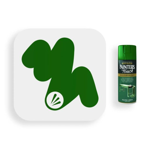 Rust-Oleum-Racing-Green-Gloss-Spray-Paint-400ml-Painters-Touch-Swatch