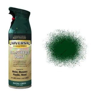 Rust-Oleum Racing Green Gloss Universal Spray Paint 400ml
