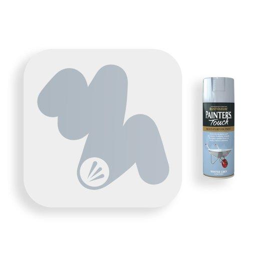 Rust-Oleum-Winter-Grey-Gloss-Spray-Paint-400ml-Painters-Touch