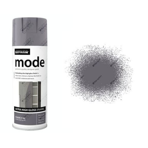 Rust-Oleum Mode Dark Grey Charcoal Gloss Ultra High 400ml